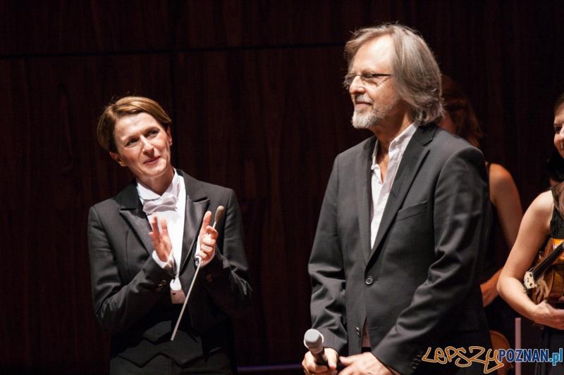 Monika Wolińska i Jan A.P. Kaczmarek - Transatlantyk - gala otwarcia (8.08.2014) CK Zamek  Foto: © lepszyPOZNAN.pl / Karolina Kiraga
