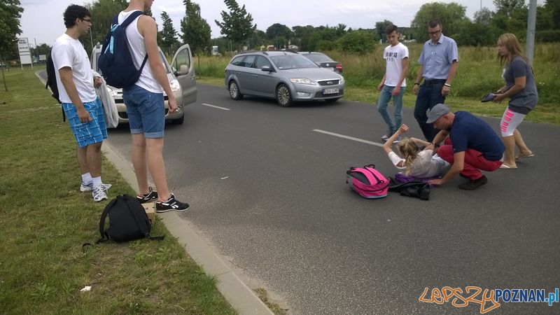Nastolatka potrącona przy Termach   Foto: news@lepszypoznan.pl