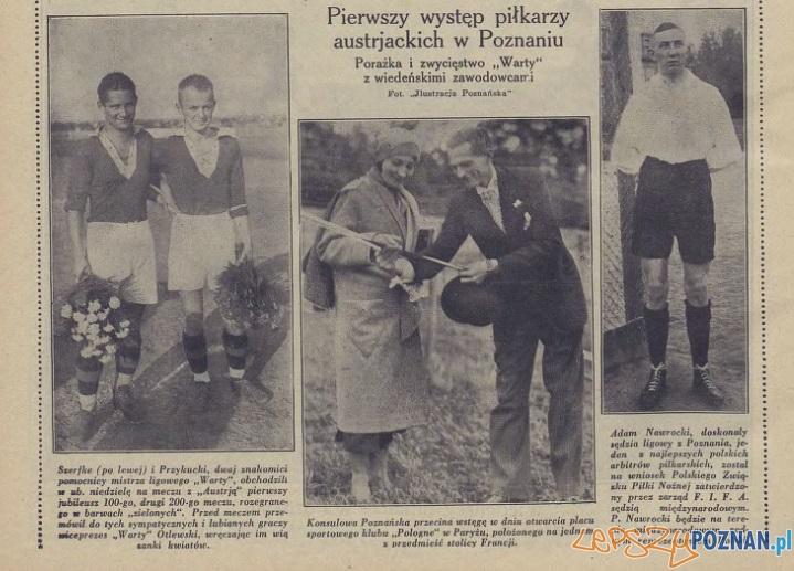 Warta - Austrja Ilustr Pozn 9-10.08.1930
