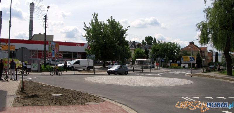 Nowe rondo w Mosinie Foto: UMiG Mosina