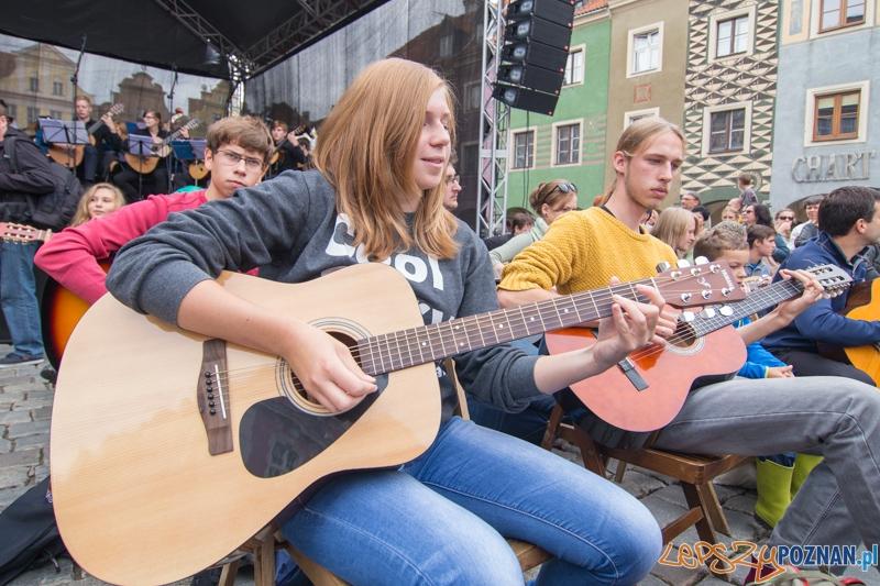 Happening Gitarowy  Foto: lepszyPOZNAN.pl / Piotr Rychter