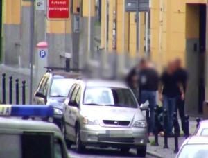 Bójka przy Starym Rynku Foto: Monitoring miejski