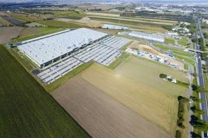 Centrum logistyczne firmy Amazon w Sadach