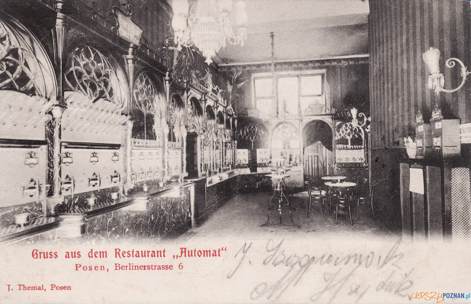 Restauracja Automat przy Berlinskiej  Foto: CC