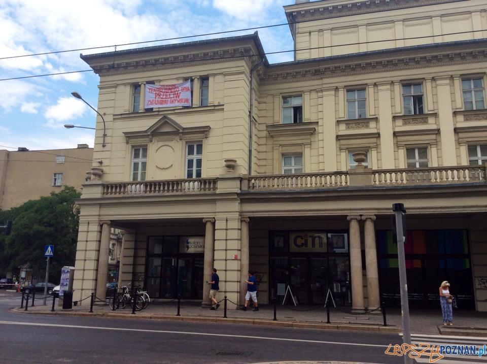 Protest Teatr Ósmego Dnia  Foto: materiały prasowe