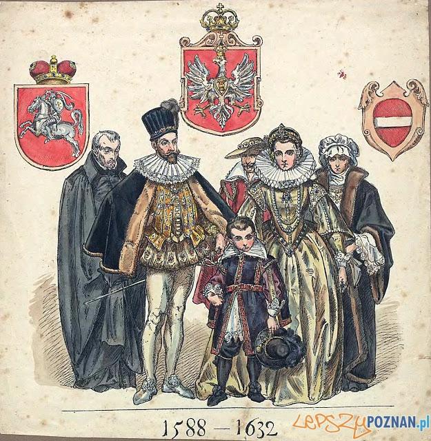 Zygmunt III Waza z rodziną i dworem