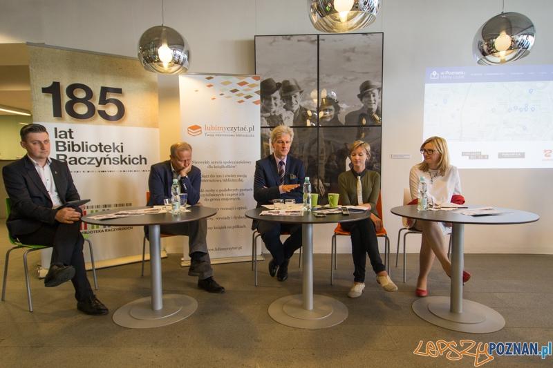 Lubimy czytać - konferencja prasowa  Foto: lepszyPOZNAN.pl / Piotr Rychter