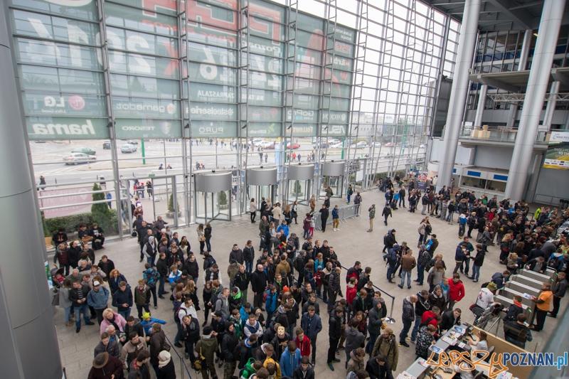 Wejście na targi  Foto: lepszyPOZNAN.pl / Piotr Rychter