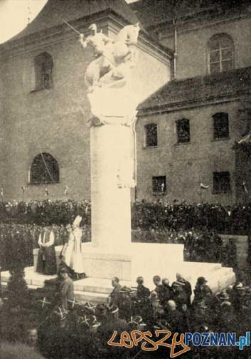 Odsłonięcie pomnika Ułanów Poznańskich