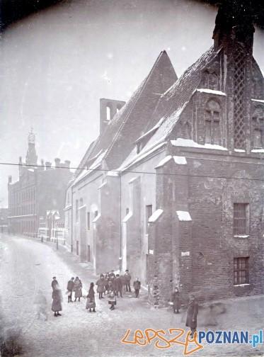 Klasztor Katarzynek i ulica Masztalarska 1898
