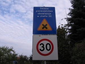 Strefa 30 Foto: ZDM