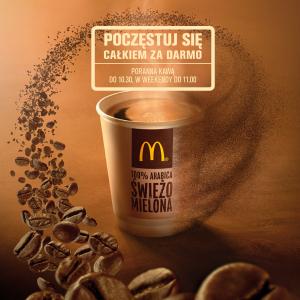 Poczęstuj się poranną kawą za darmo