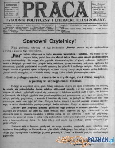 Tygodnik Praca 6.10.1907 z nowym wydawca Foto: WBC