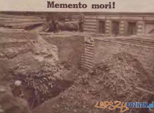 Budowa plebani przy parafii Św. Marcina Foto: Ilustracja Poznańska, nr 42 z 20.10.1928, WBC