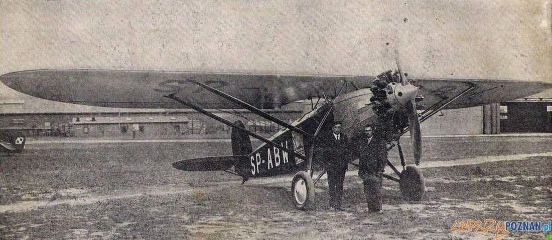 Samolot na Lawicy 1929 Foto: CC