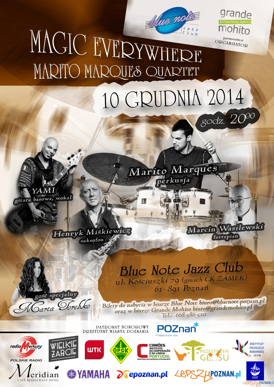 Magic Everywhere - Marito Marques Quartet  Foto: