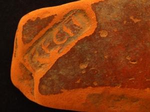 Fragment terra sigillata - Wymysłowo, okres rzymski Foto: Muzeum Archeologiczne w Poznaniu
