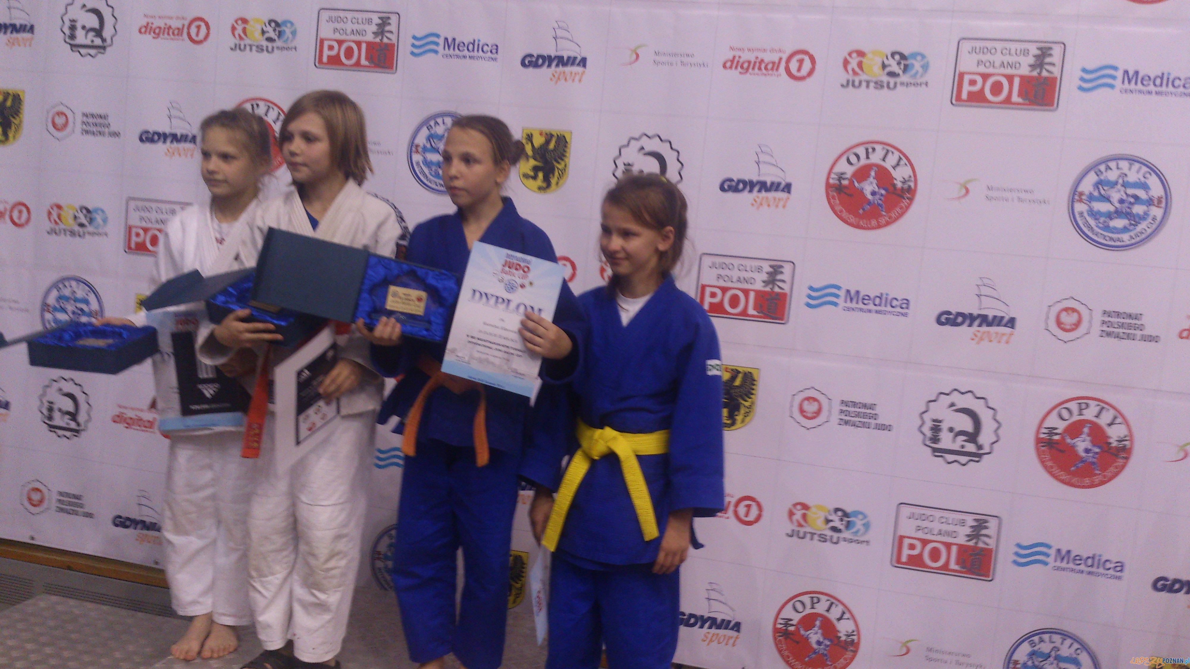 Zawodnicy Akademii Judo na zawodach w Gdynii  Foto: Akademia Judo