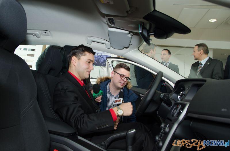 Pan Wojciech - maratończyk w Volvo Foto: POSiR