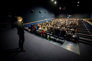 Morgan Matthews - spotkanie podczas Festiwalu Ale Kino Foto: materiały prasowe