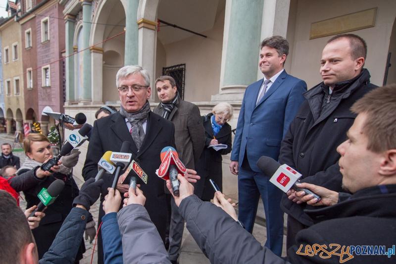Uroczysta sesja Rady Miasta Poznania - zaprzysiężenie Prezydenta Jaśkowiaka