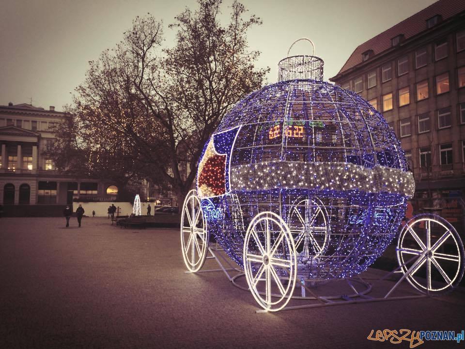 Świąteczna iluminacja 2014  Foto: Marcin
