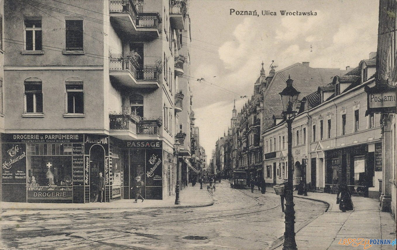 Wroclawska w 1917 r.  Foto: