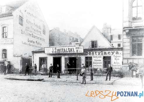 Destylarnia Świtalskiego Św Mrcin 39, koniec XIX wieku