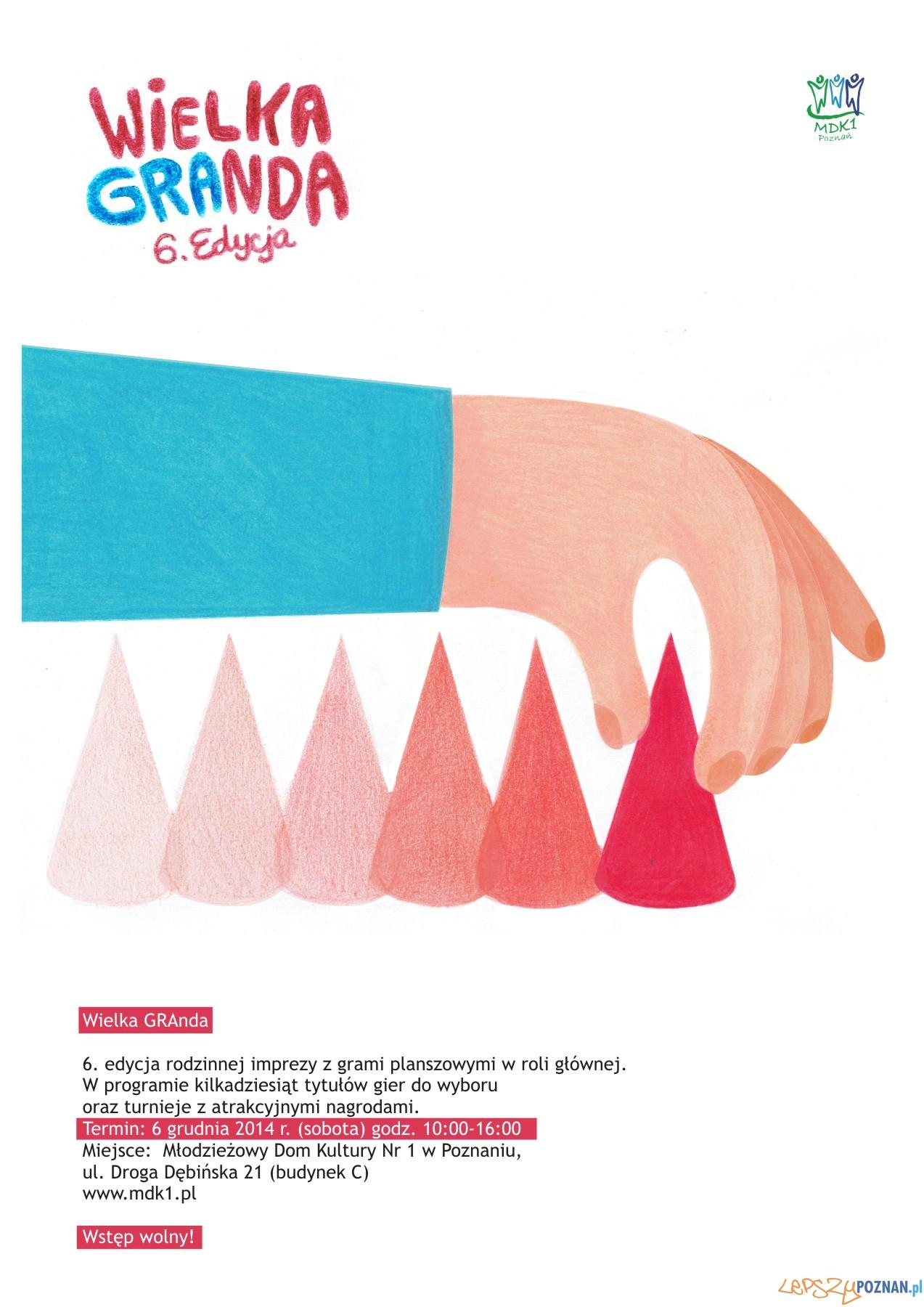 Wielka GRAnda VI - plakat  Foto: