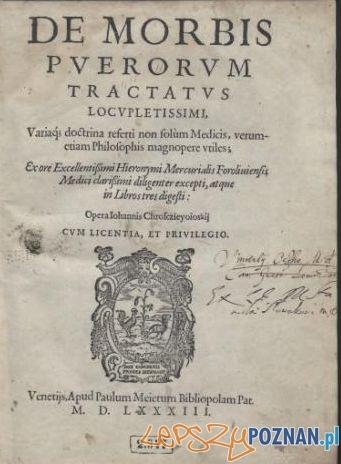Strona Tytułowa De Morbis Chrosciejewskiego