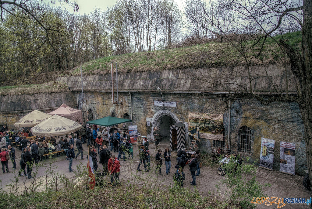 Fort_VIIa podczas Weekendu fortecznego 2013 rok Foto: Klapl, wikipedia