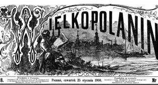 Wielkopolanin 25.01.1900 Foto: Wielkopolska Biblioteka Cyfrowa