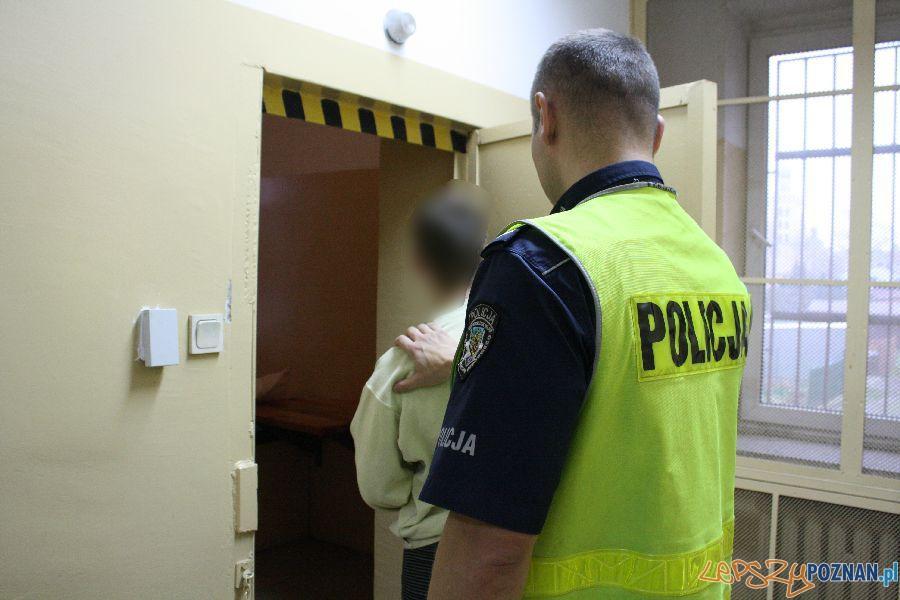 Złodziej zatrzymany przez policję   Foto: Policja