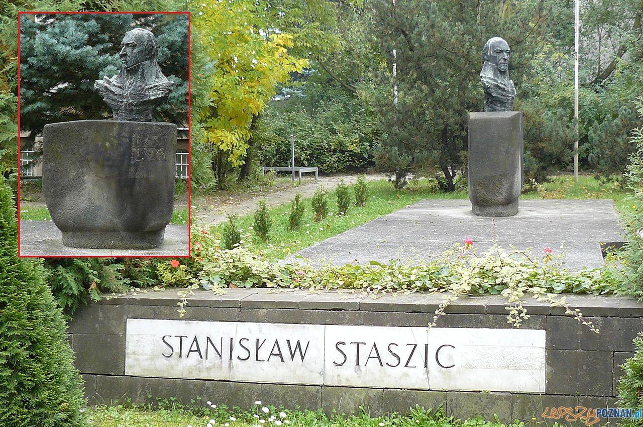 Pomnik Straszica w Poznaniu przy Marszalkowskiej Foto: wikipedia