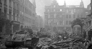 Stary Rynek w 1945 roku