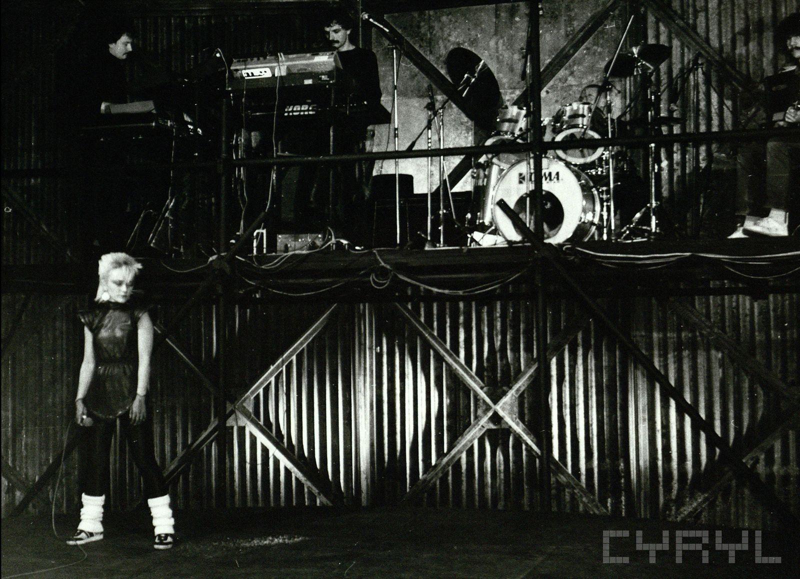 Malgorzata Ostrowska i Lombard w Teatrze Polskim 7.04.1984_
