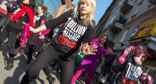 One Billion Rising – Nazywam się Miliard - Poznan 14.02.2015 r.
