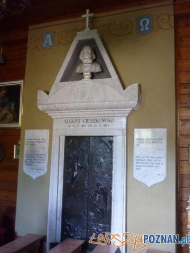 Wierzenica kaplica Cieszkowski Foto: Kindokzs, wikipedia