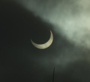Zaćmienie Słońca Foto: By Brydzo via Wikimedia Commons