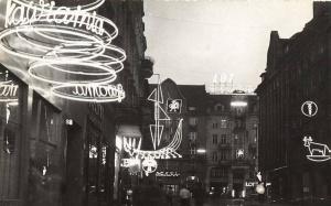 Poznań ulica Gwarna lata 60-te Foto: MNP