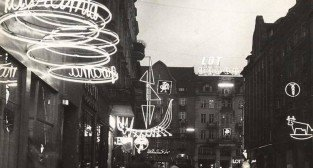 Poznań ulica Gwarna lata 60-te