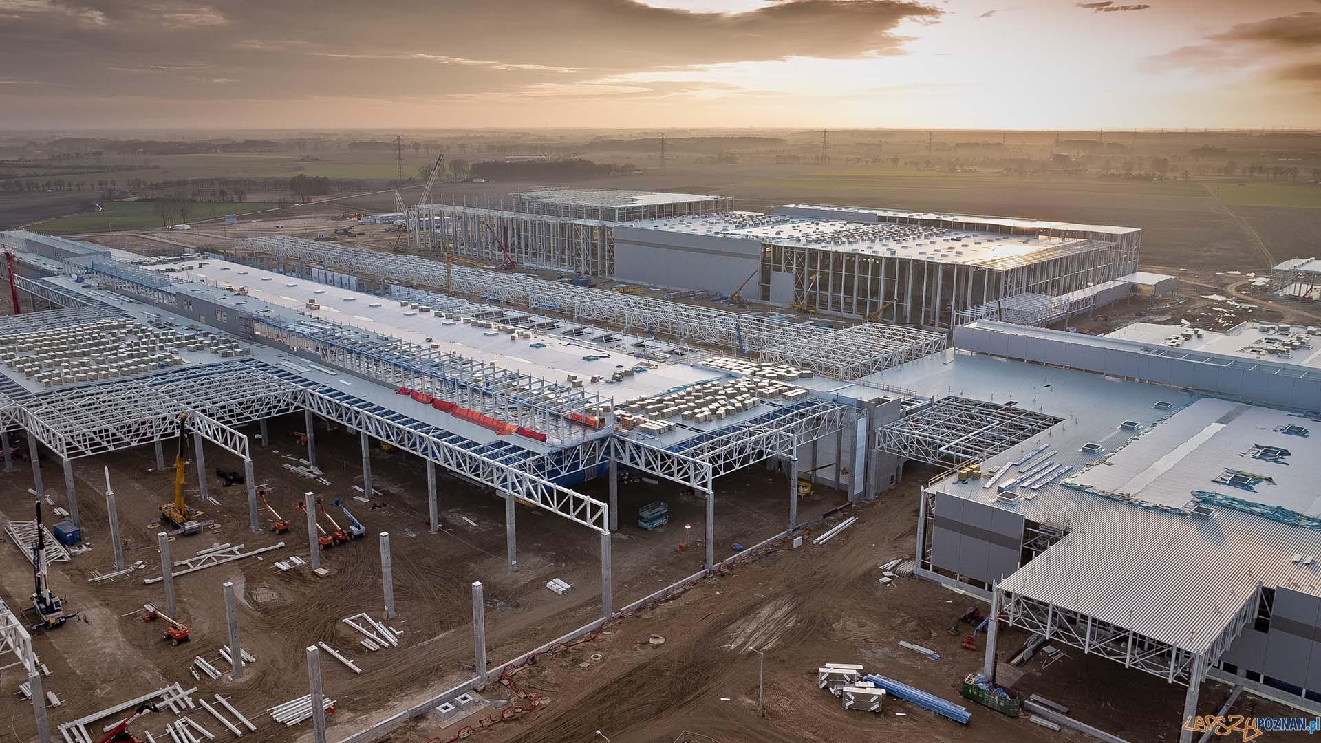 Budiowa fabryki Volkswagena pod Wrześnią   Foto: