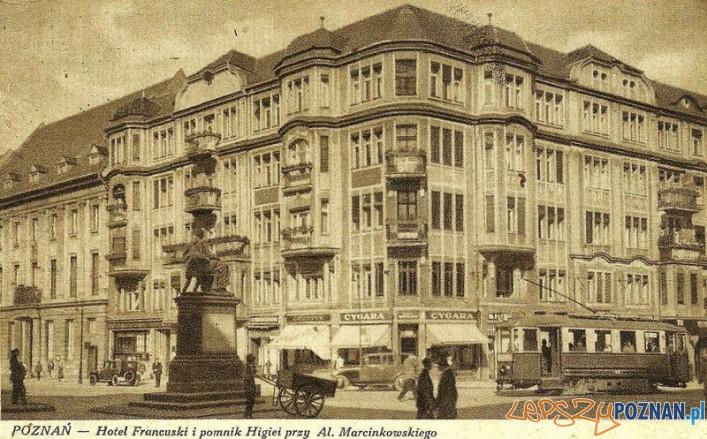 Hotel-Francuski - okres międzywojenny