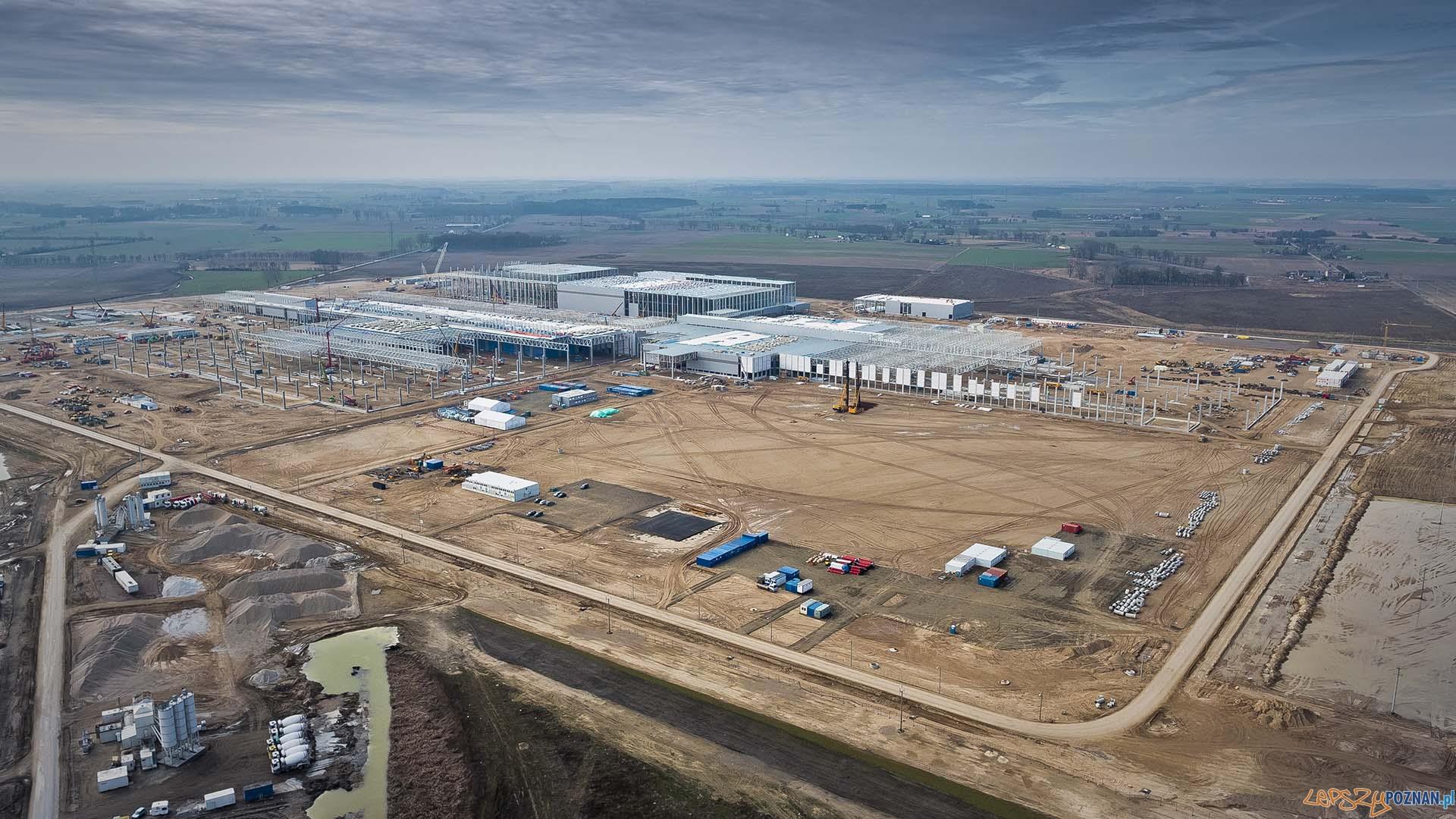 Budiowa fabryki Volkswagena pod Wrześnią  (5)  Foto: