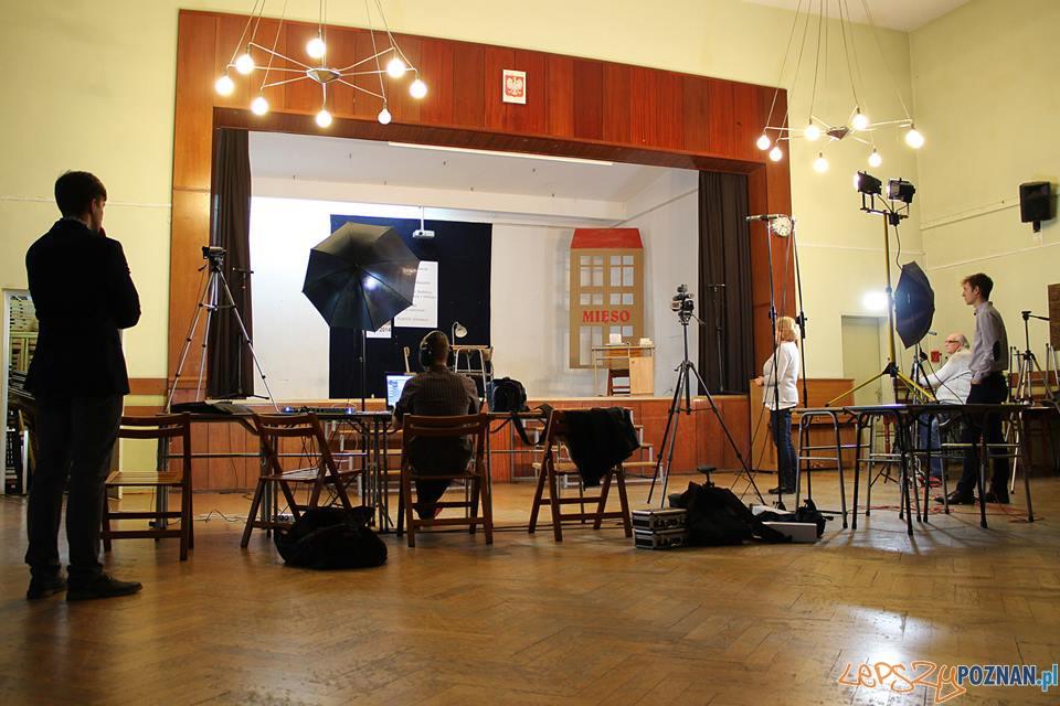 Próby do spektaklu teatralnego  Foto: Fundacja Kulturalny Poznań