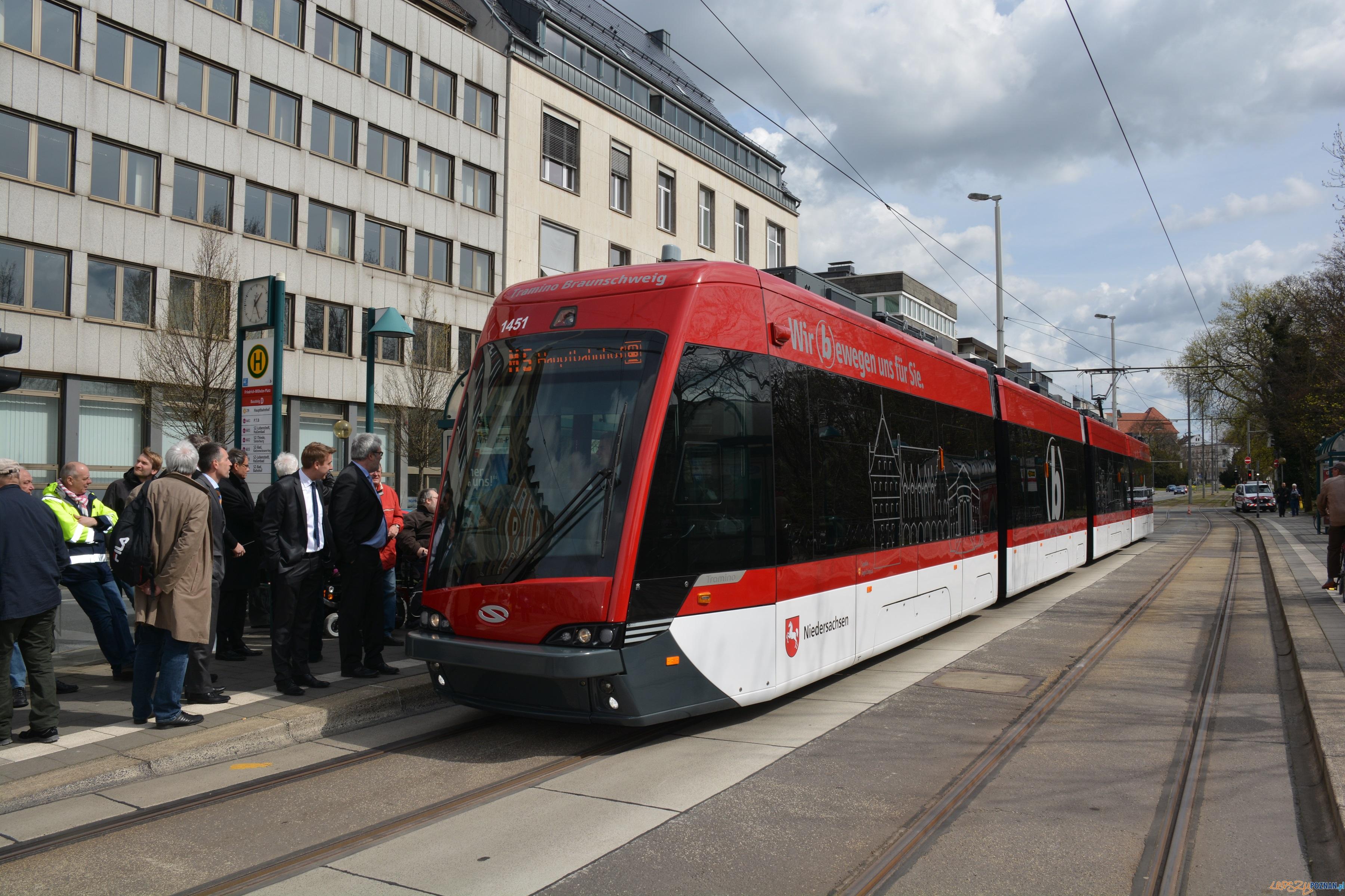 Tramino w Brunszwiku  Foto: braunschweiger_verkehrs-gmbh