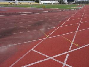 Prace na stadionie na Gołęcinie Foto: POSiR