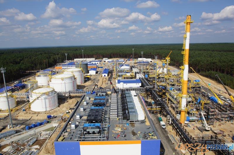 Kopalnia ropy naftowej i gazu ziemnego, Lubiatów-Międzychód-Grotów (08.2011) Foto: PBG