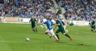 Lech Poznań - Śląsk Wrocław 2:0 - 25 kwietnia 2015 r.