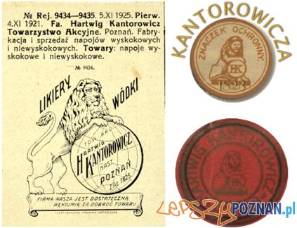 Znak firmowy Kantorowicza Foto: https://maclawyer.wordpress.com/